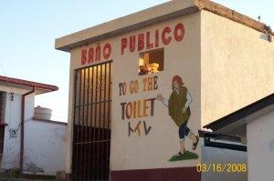 to go the toilet bolivia